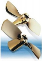 Folding blades propellers