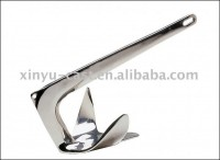 Steel marine anchor