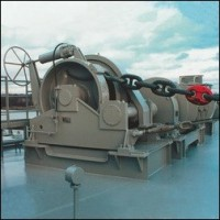 Anchor-mooring winches