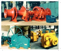 Deck machinery for shipbuilding industry