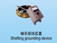 Shafting grounding device