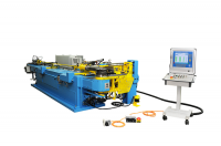 CNC 80 HD Tube cold bending machine with tube positioning device and bend table drive